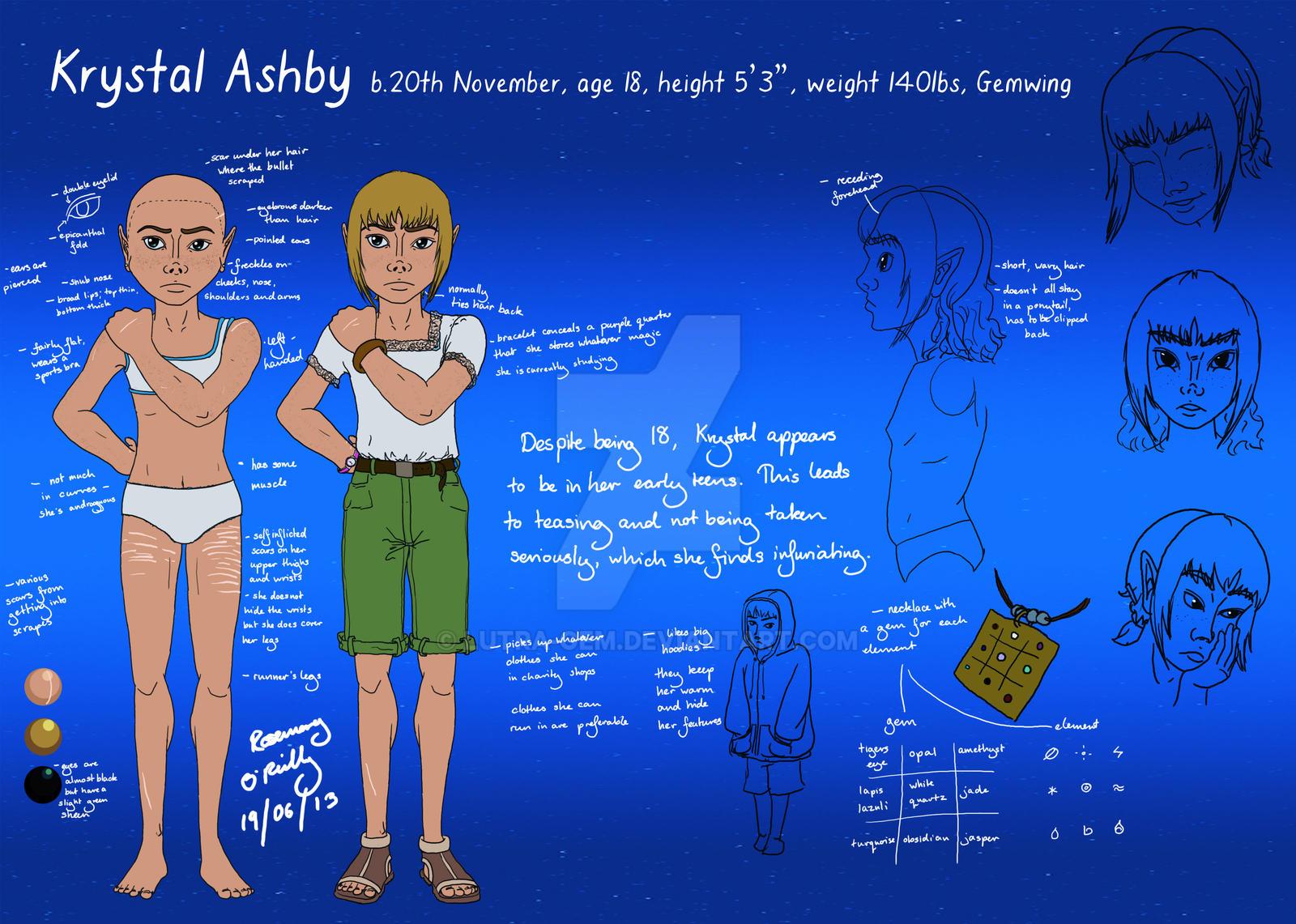 Gemwing - Krystal Maria Ashby by Lutra-Gem