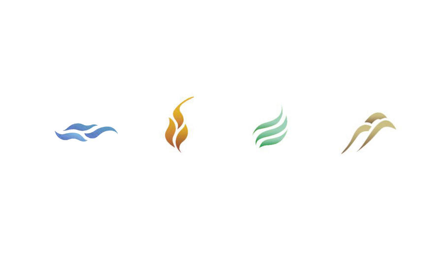 Four Elements Symbols Images Free Symbol And Sign Meaning
