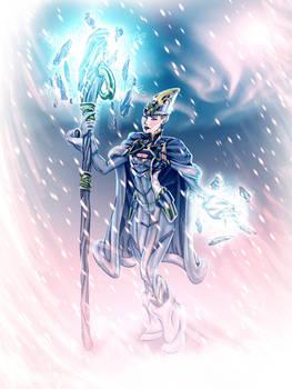 Ice magician