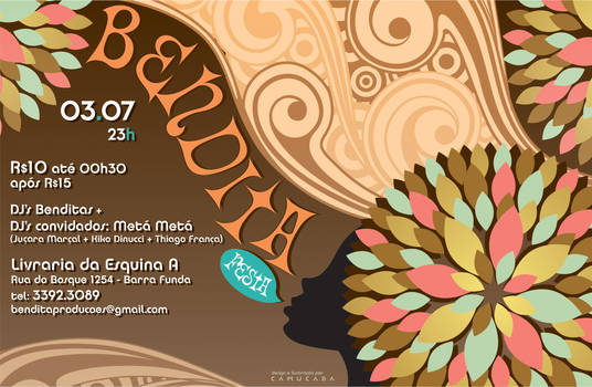 Flyer - Bendita Festa