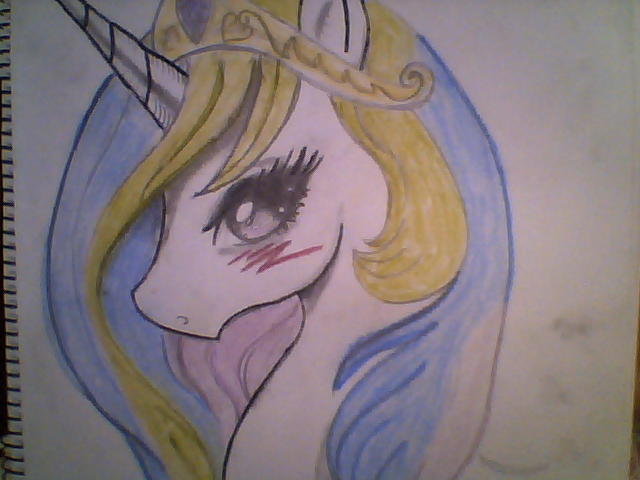 Princess Celestia Princess Celestia Hand Drawing