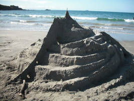Minas Tirith Made Of Sand