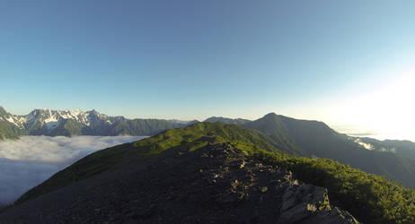 Towards Mount Yonen
