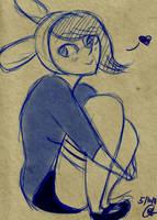 W.I.P.: Adventure time: Fiona by ladyburara