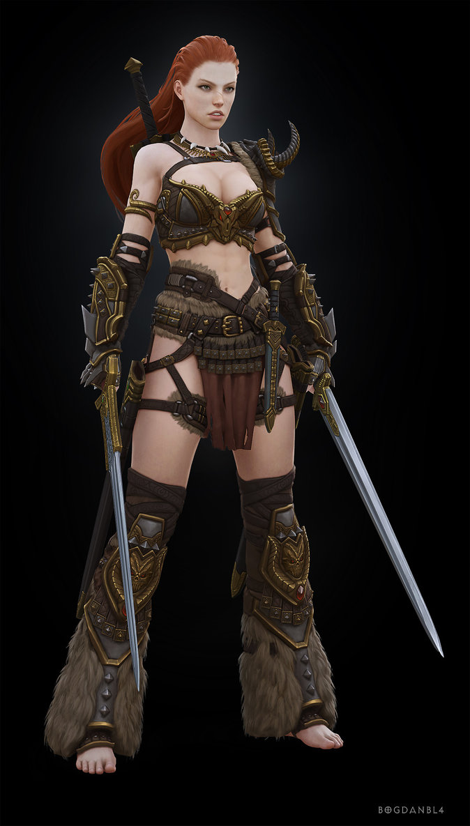 Girl barbarian from diablo 3 naked sexual pics