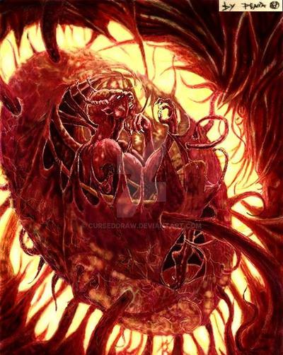 The Birth of Destruction by Curseddraw
