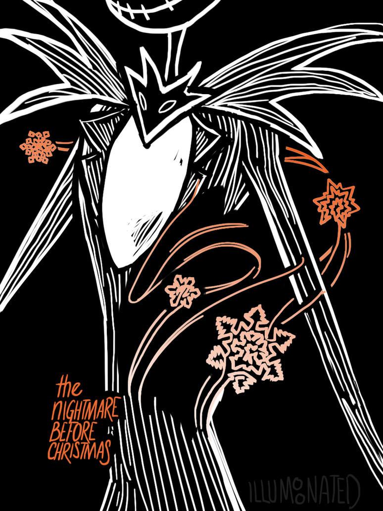 The Nightmare Before Christmas Poster 3 by LittleMsArtsy on DeviantArt