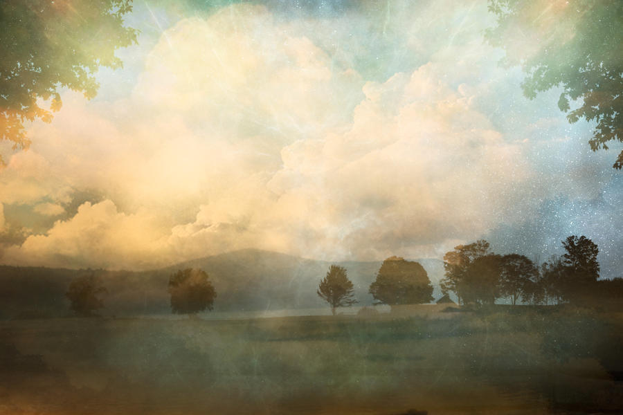 Magical Landscape - premade background by iadonna