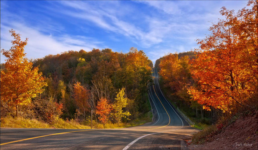 Fall Drive by Jack-Nobre