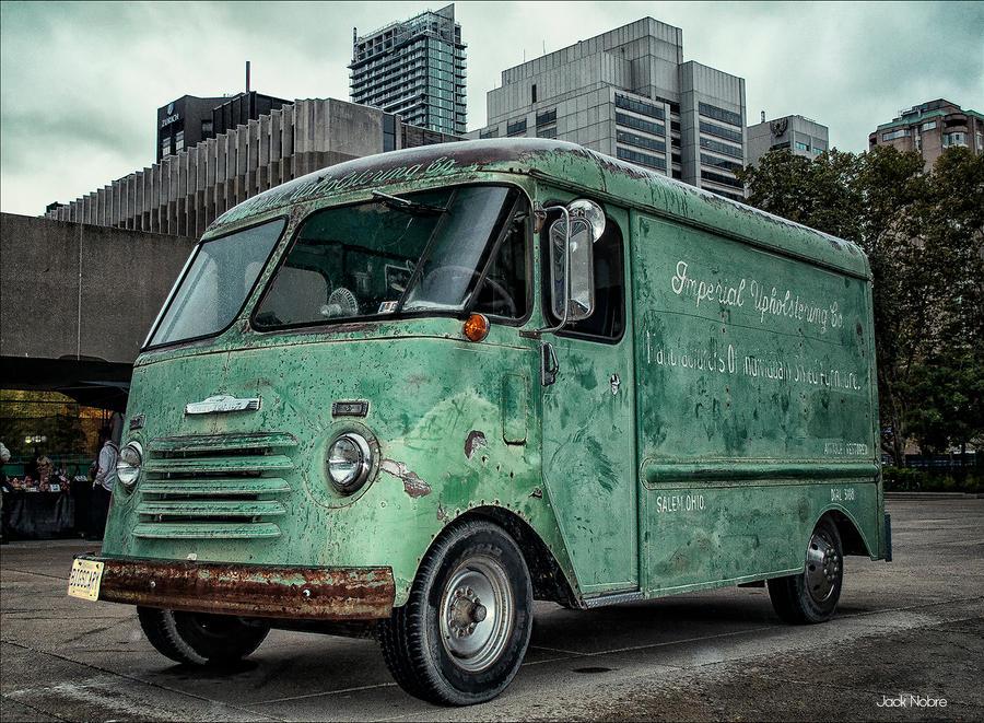 Zombie Delivery Van by Jack-Nobre
