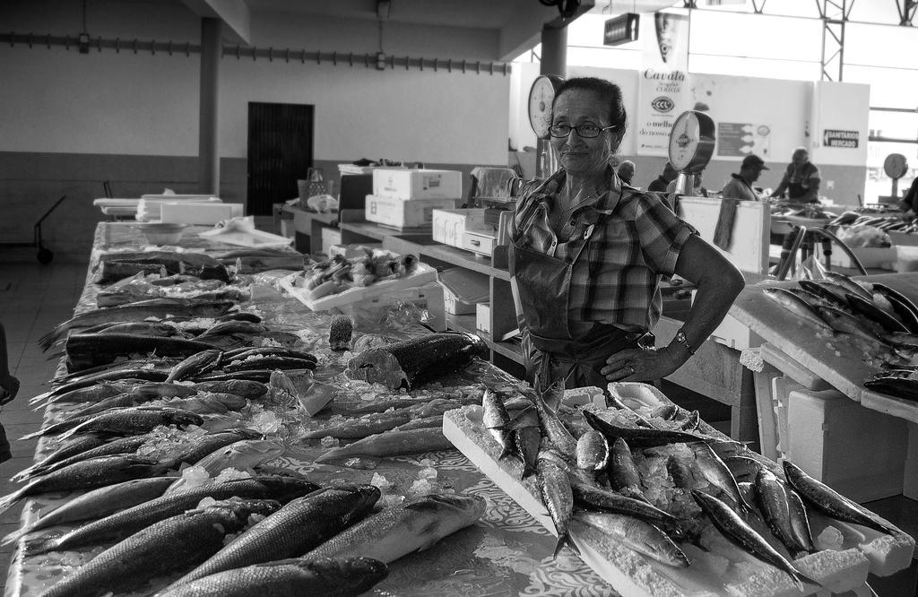 Fish at the Market by Jack-Nobre