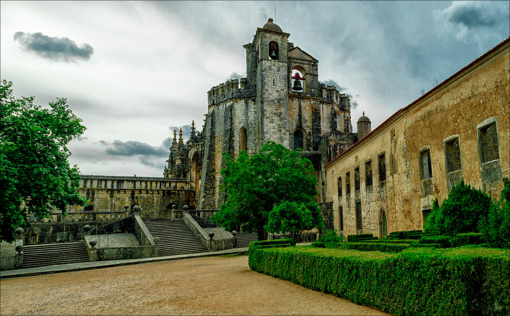 Convent of the Order of Christ by Jack-Nobre
