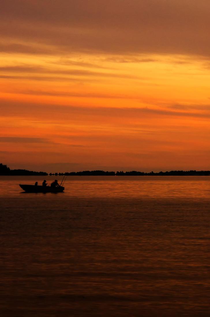 Warm Sunset by Jack-Nobre