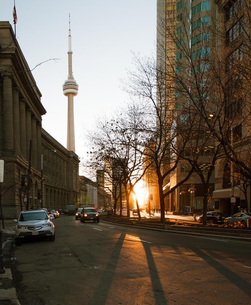 Sunset Toronto by Jack-Nobre