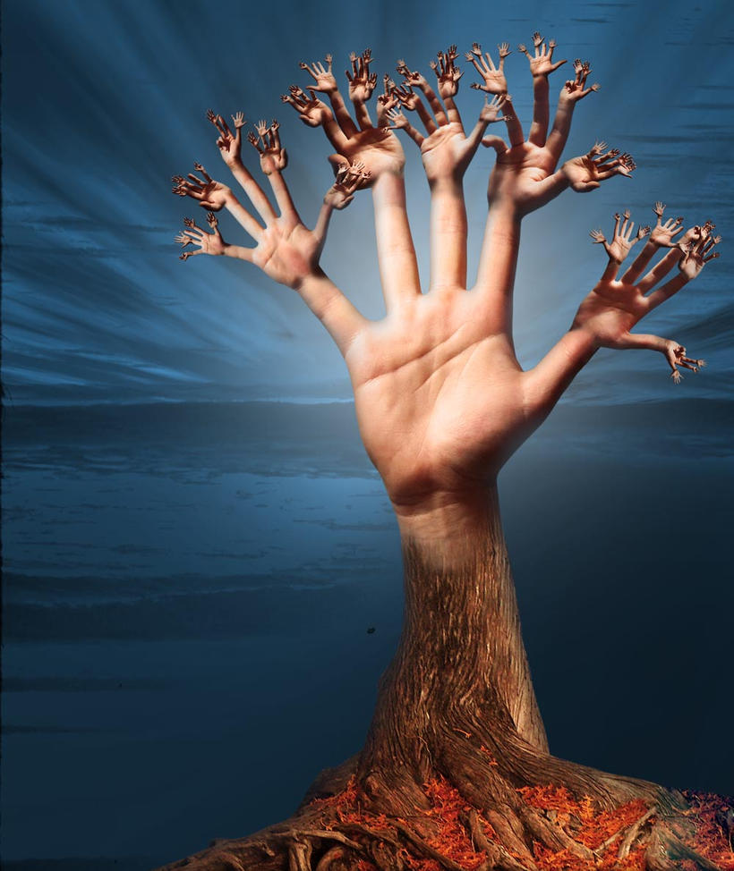 Hand tree manipulation