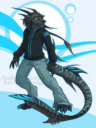 Andy - by SqueedgeMonster