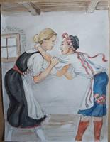Rival girls 1 by Gesperax