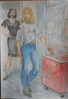 Shoplifter 1 by Gesperax
