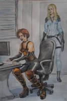 Area 51 spanking 1 by Gesperax