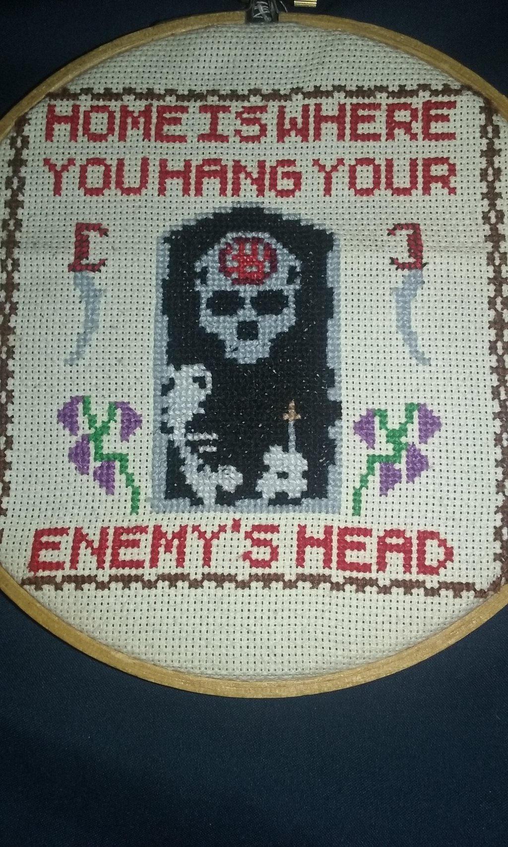 Yay Cross-stitching~