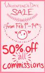 Valentine's Day / February Sale!