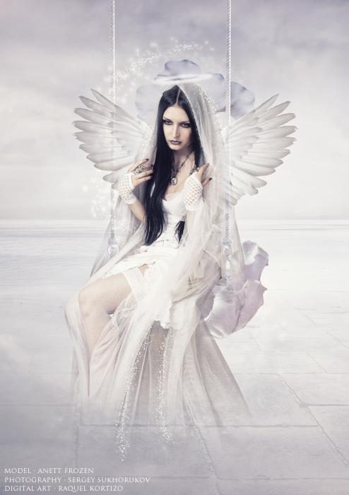 fantasy art angel sad - photo #44