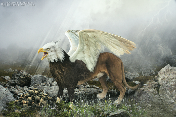 Griffin by RaquelKortizo