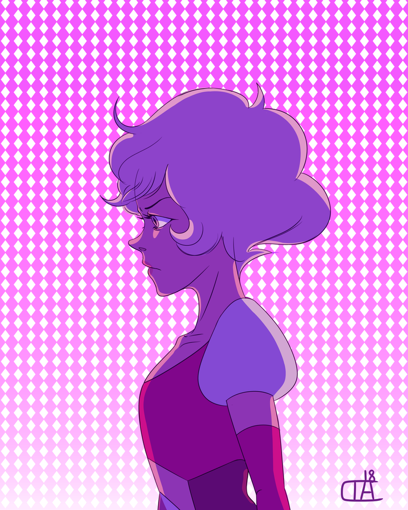 Hello I am not dead and I've got proof. A lot has gone down in the realm of steven universe this year and I'm all for it, so I drew the one and only Pink Diamond! I personally really like her desig...