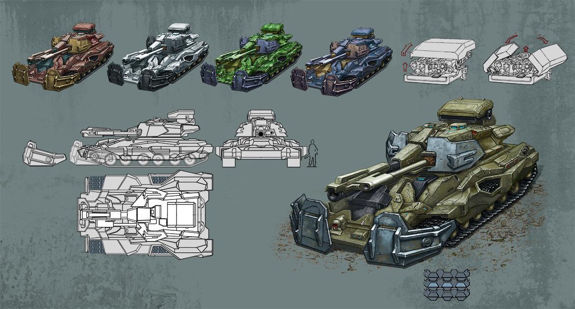 heavy_tank by andreiha