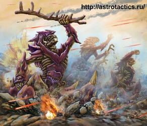 warrior Kamari by andreiha