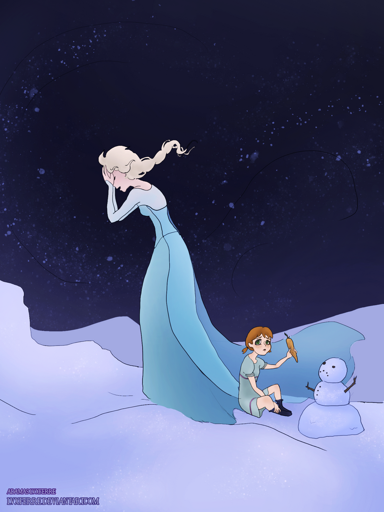 I do want to build a snowman by lvxferre on deviantart for I want to make a snowman