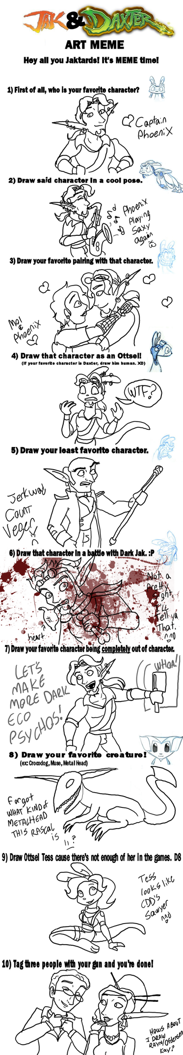 Jak and Daxter Meme by TromboneGothGirl84
