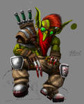 Goblin Berserker WIP
