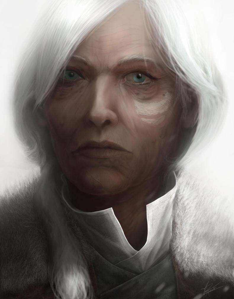 Portrait WIP by Mr-Goblin