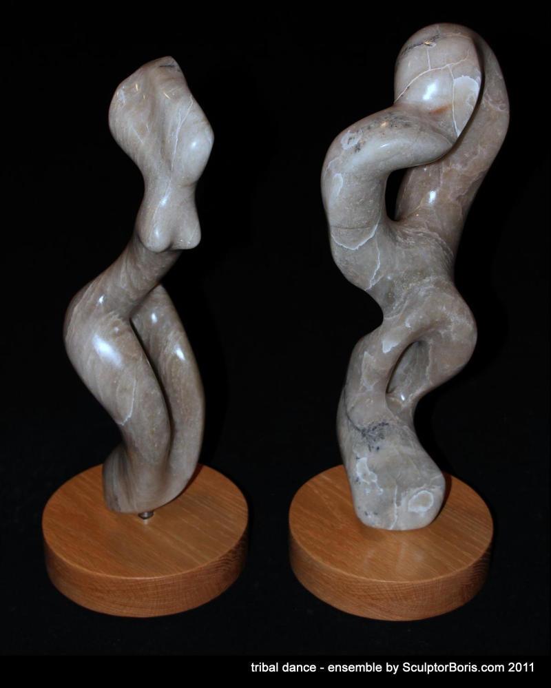 tribal dance 2011 - ensemble by SculptorBoris