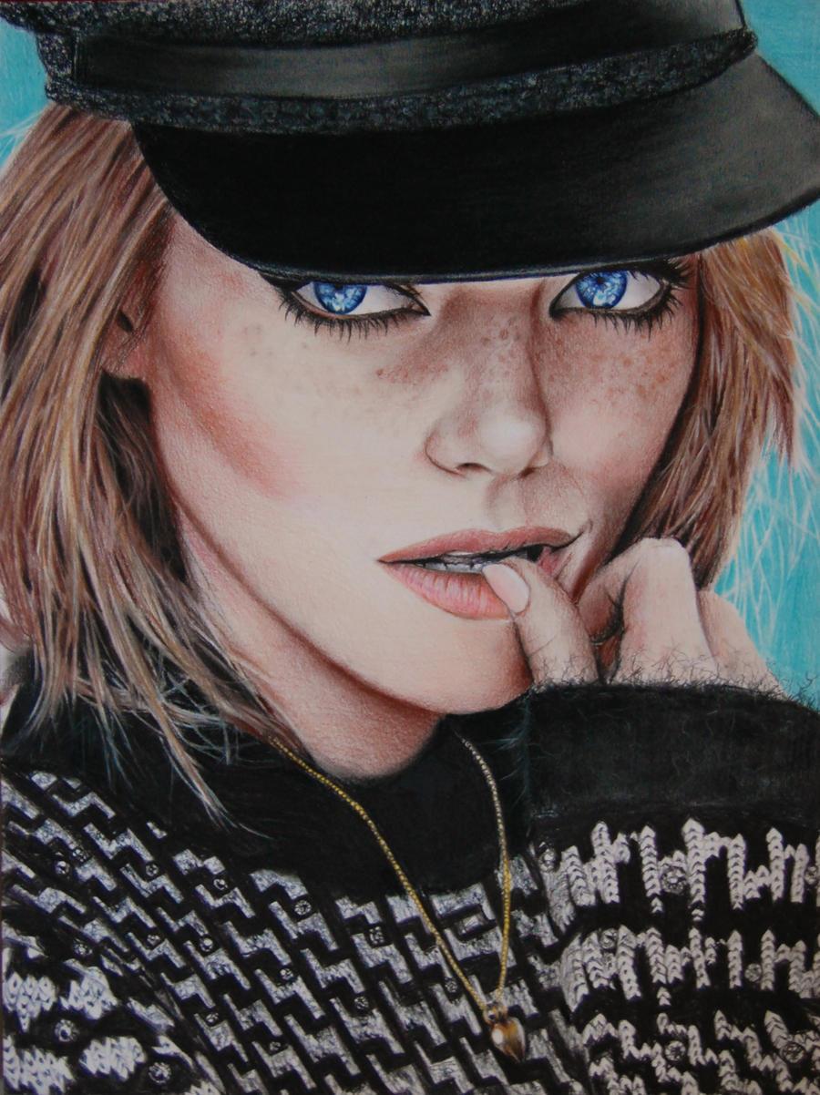 Emma Stone by Valontine