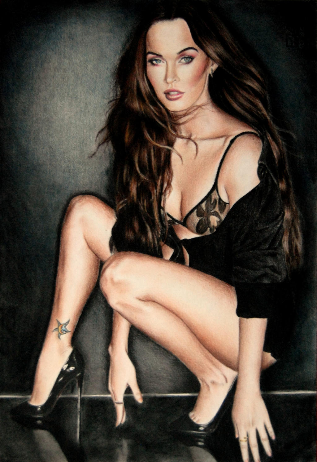 Megan Fox - Esquire by Valontine