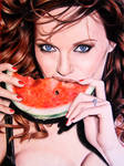 Christina Hendricks by Valontine