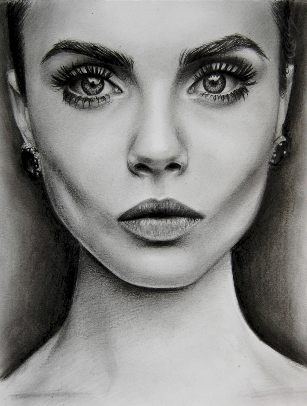 Drawing Scribble Face : Cara delevingne by valontine on deviantart