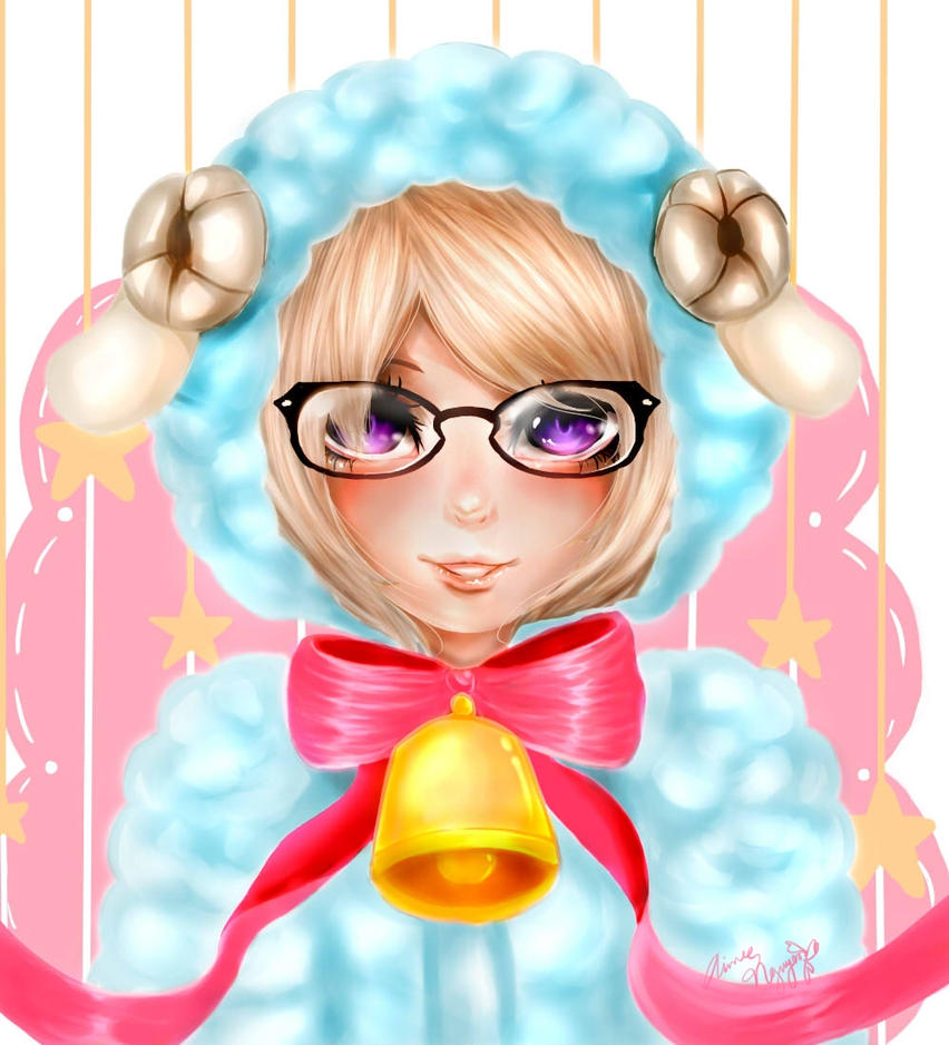 LINE Play Commission for Luna by Muyenai