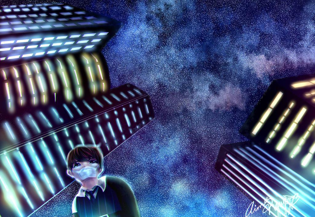 Starlit City by HeartTeddies