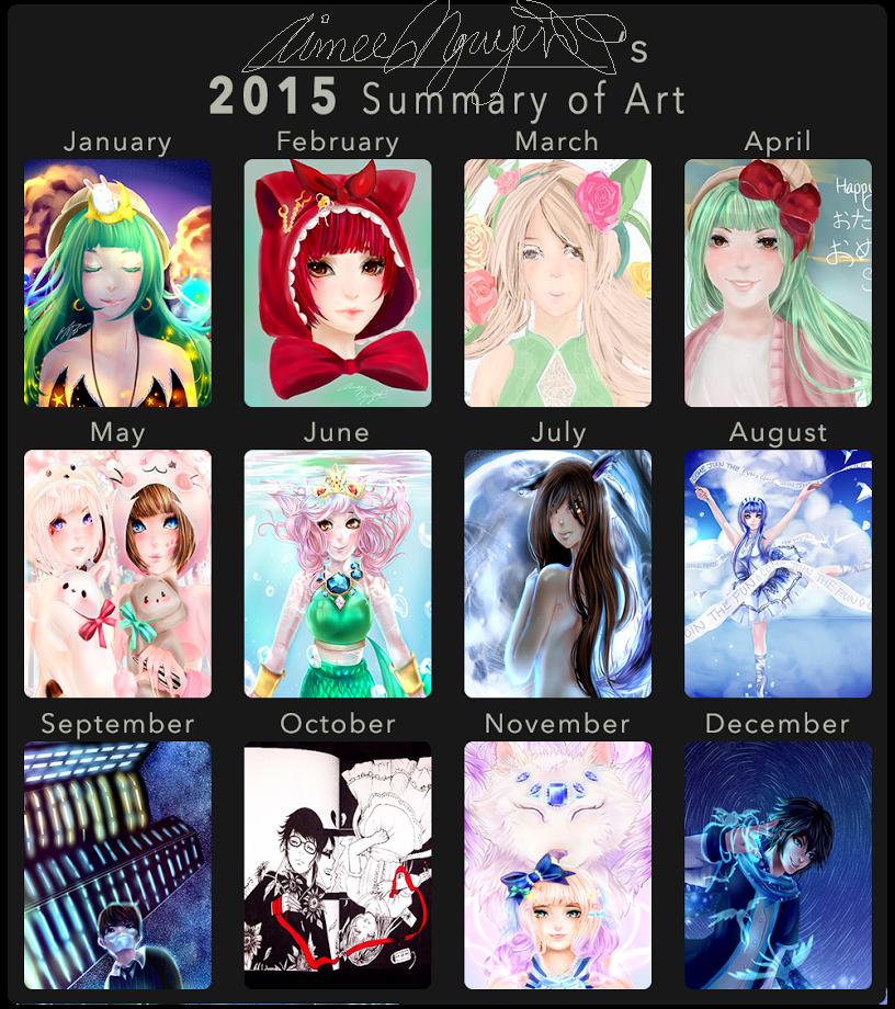 2015 Summary of Art by Muyenai
