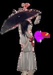 Anime Girl-render
