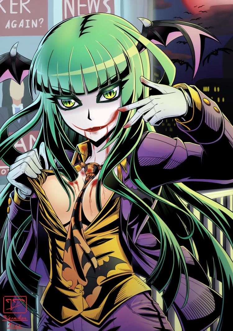 Morrigan - Halloween Ver 1 by VermillionDice