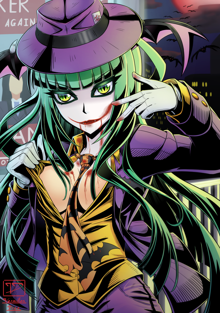 Morrigan - Halloween Ver 2 by VermillionDice