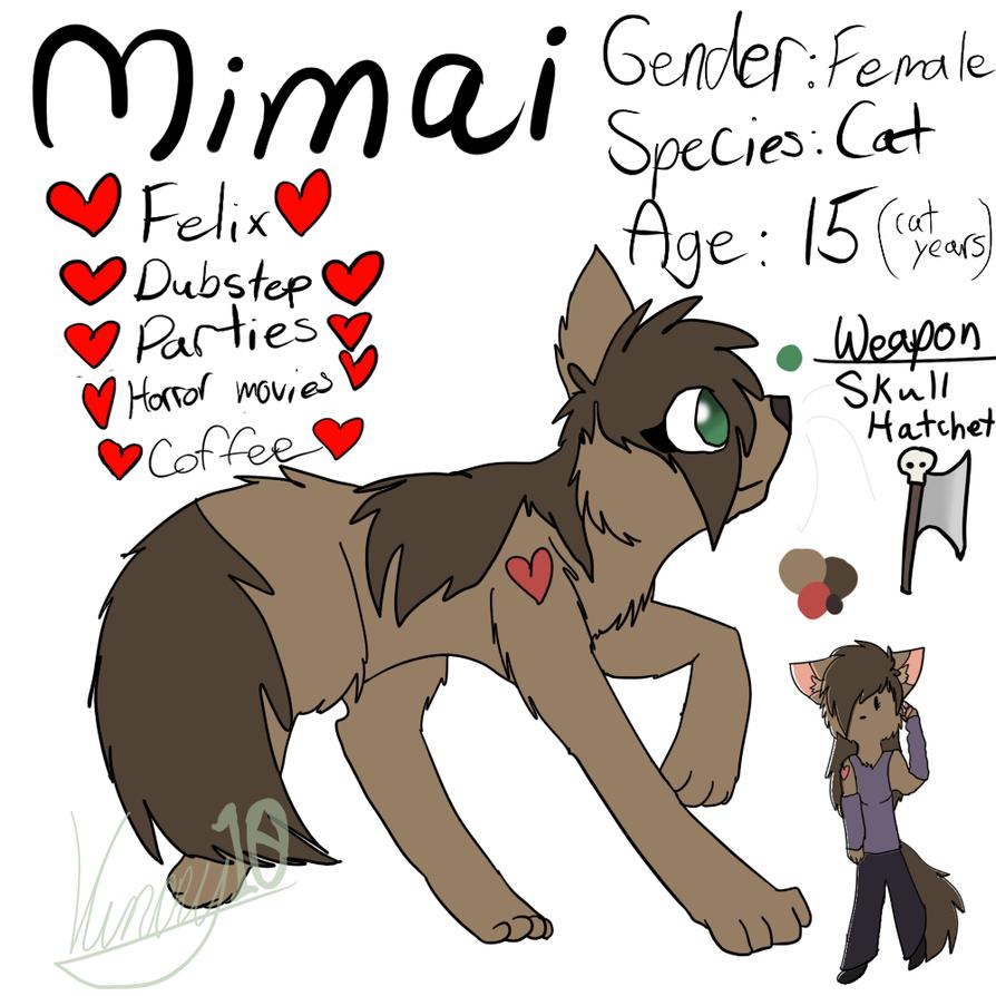Mimai Reff Sheet by Memethekitten