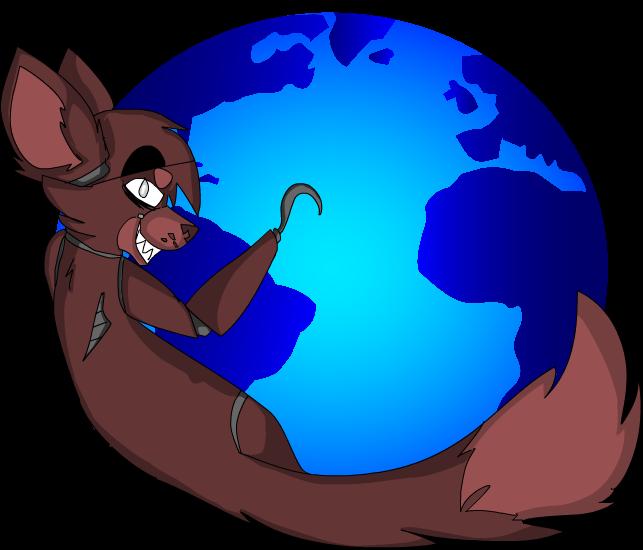 Fire Foxy by Memethekitten