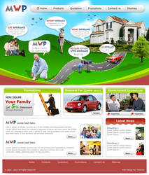Web Deisgn for Insurance Co. by Mohsan-Raza