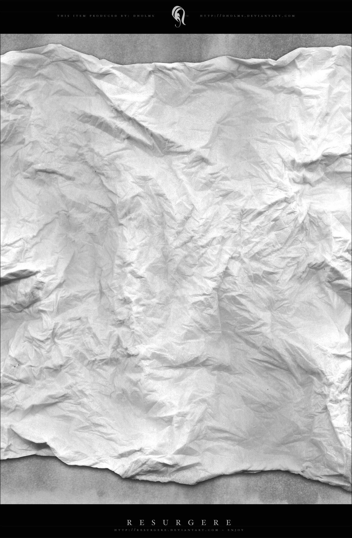 crumpled tissue - paper by resurgere
