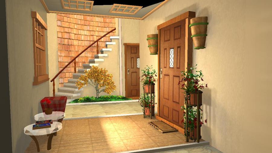 interior work in maya by akashguru05 ...